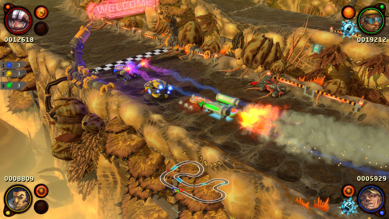 BlazeRush Review Screenshot 3
