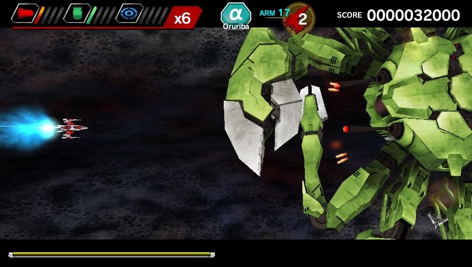 DARIUSBURST Chronicle Saviours PS Vita Review Screenshot 2