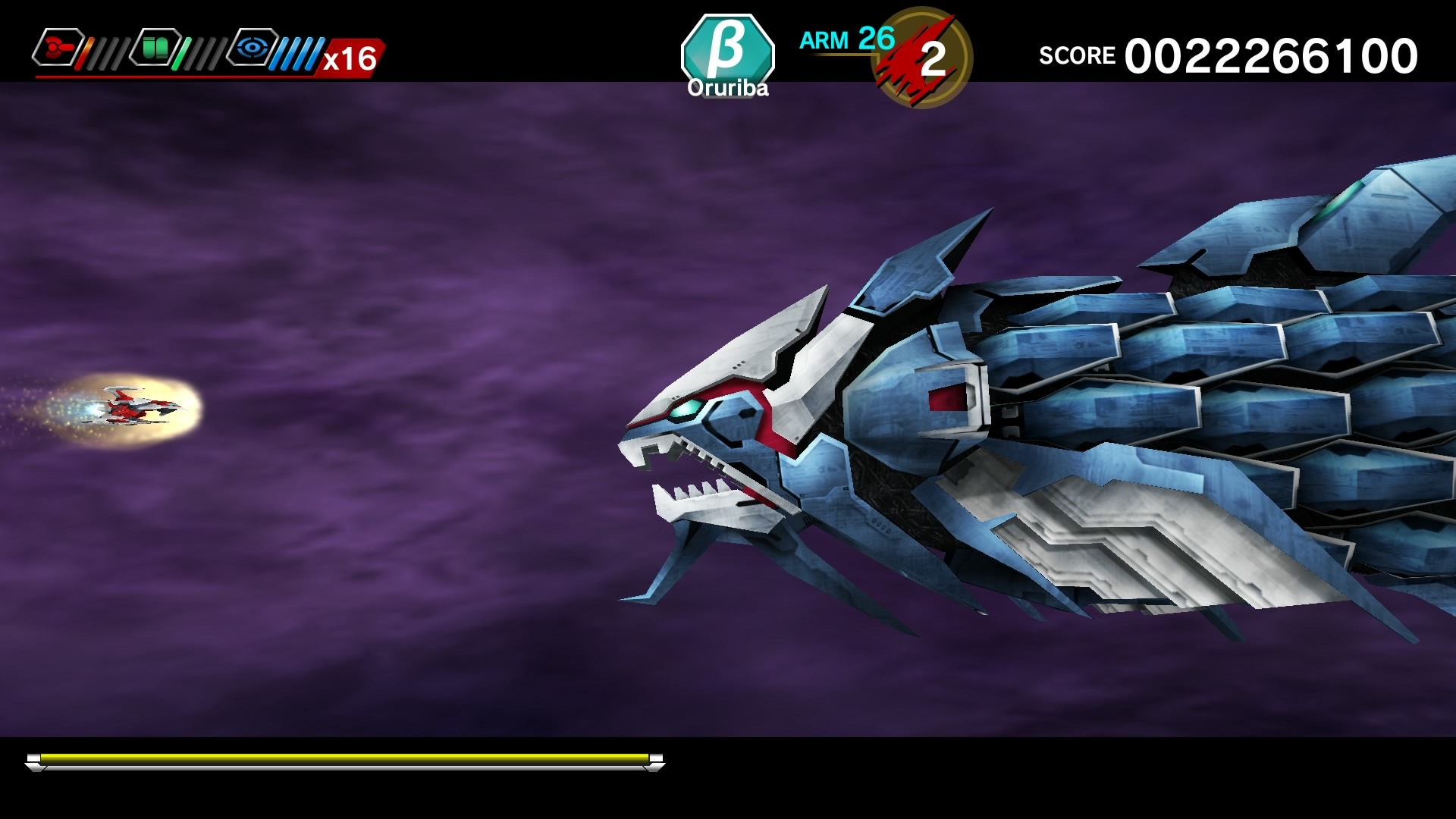 DARIUSBURST Chronicle Saviours Review Screenshot 3