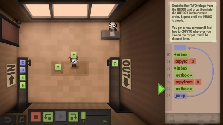 Human Resource Machine Review Screenshot 1