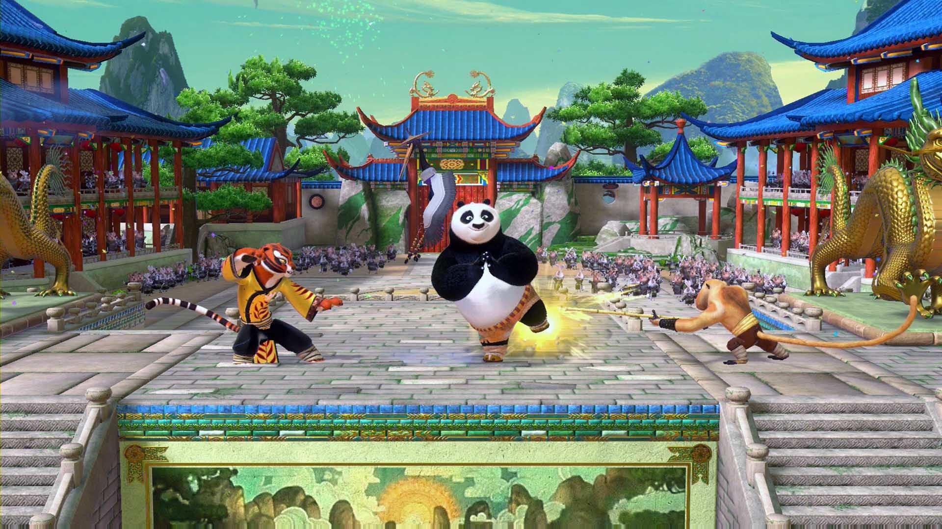 Kung Fu Panda Showdown of Legendary Legends Review Screenshot 1