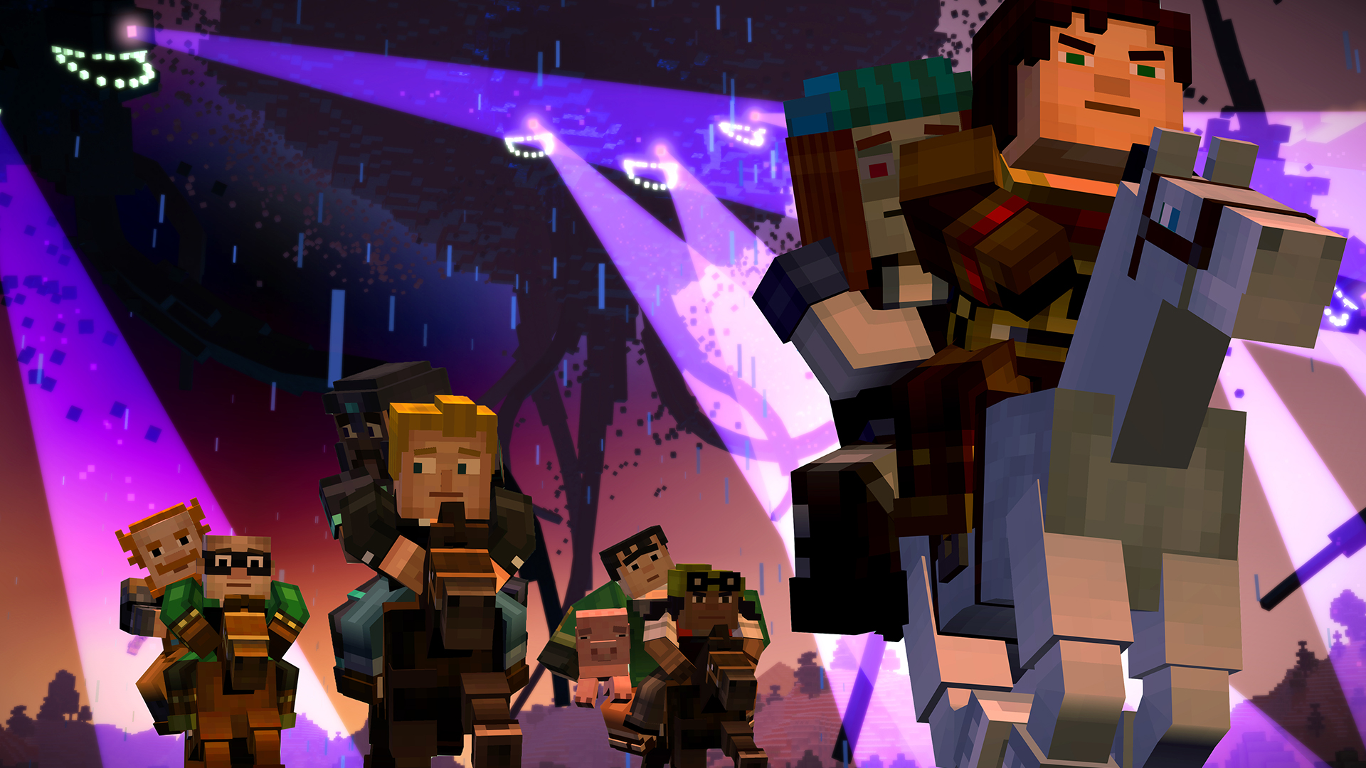 Minecraft Story Mode A Telltale Games Series Episode 4 A Block and a Hard Place Review Screenshot 1