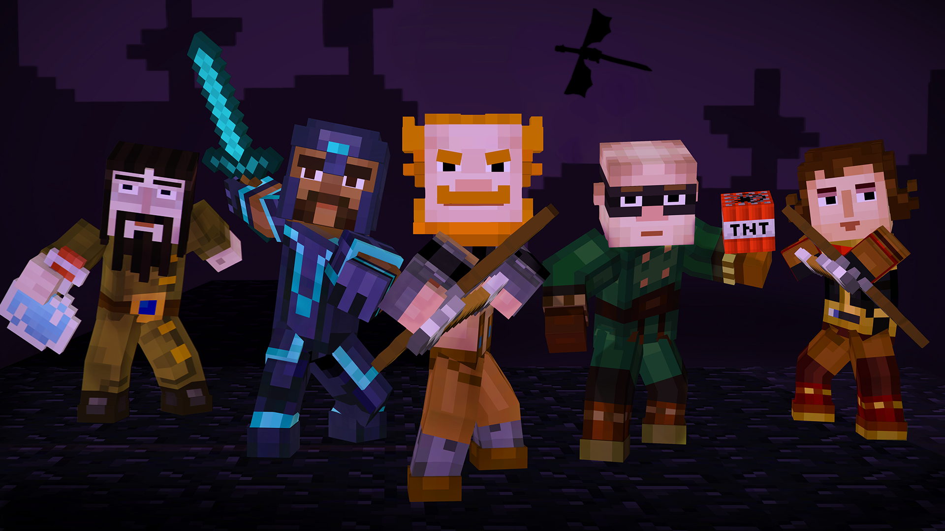 Minecraft Story Mode A Telltale Games Series Episode 4 A Block and a Hard Place Review Screenshot 3