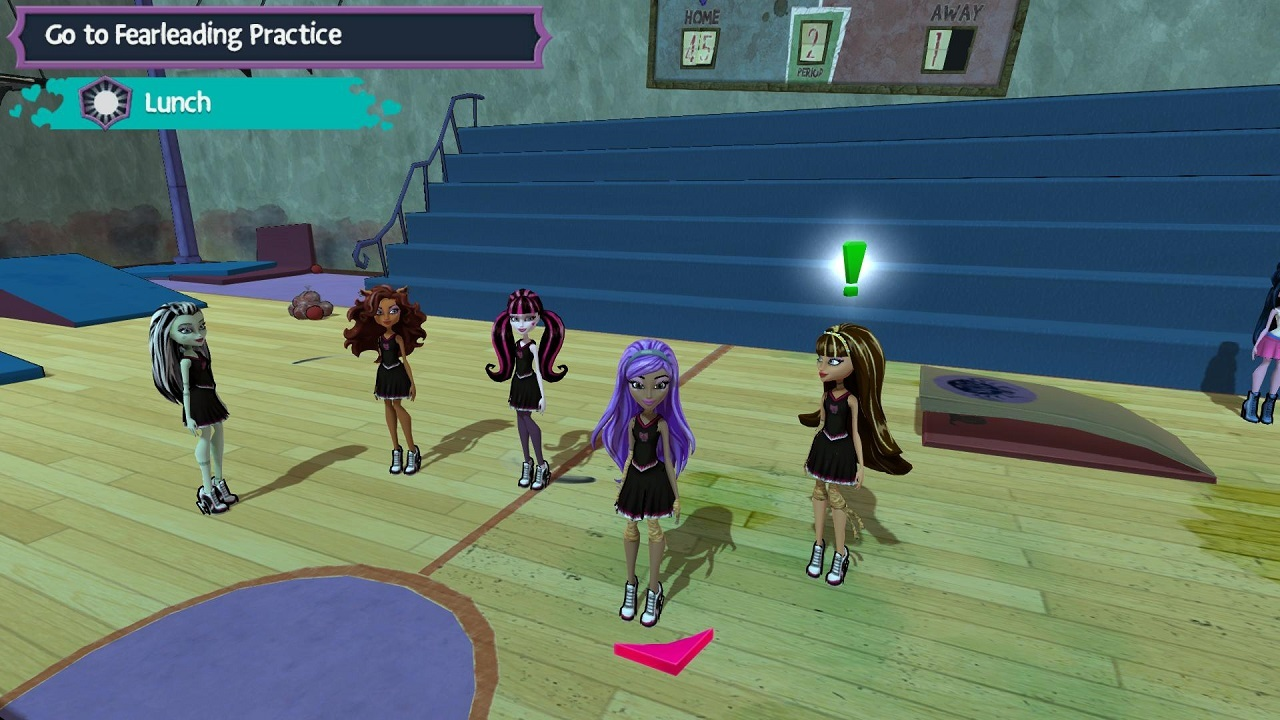 Monster High New Ghoul in School Review Screenshot 2