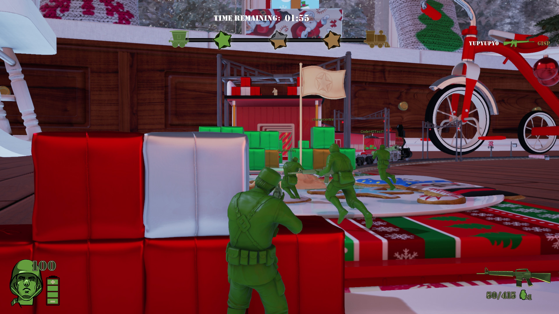 The Mean Greens Plastic Warfare Review Screenshot 2