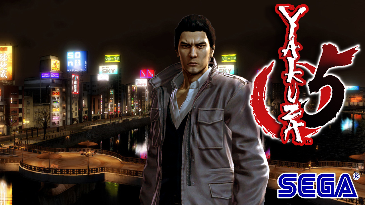Yakuza 5 Digital Release Date Announced