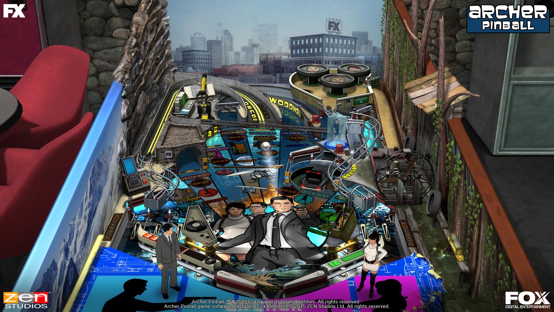 Zen Pinball 2 Balls of Glory Pinball Review Screenshot 1