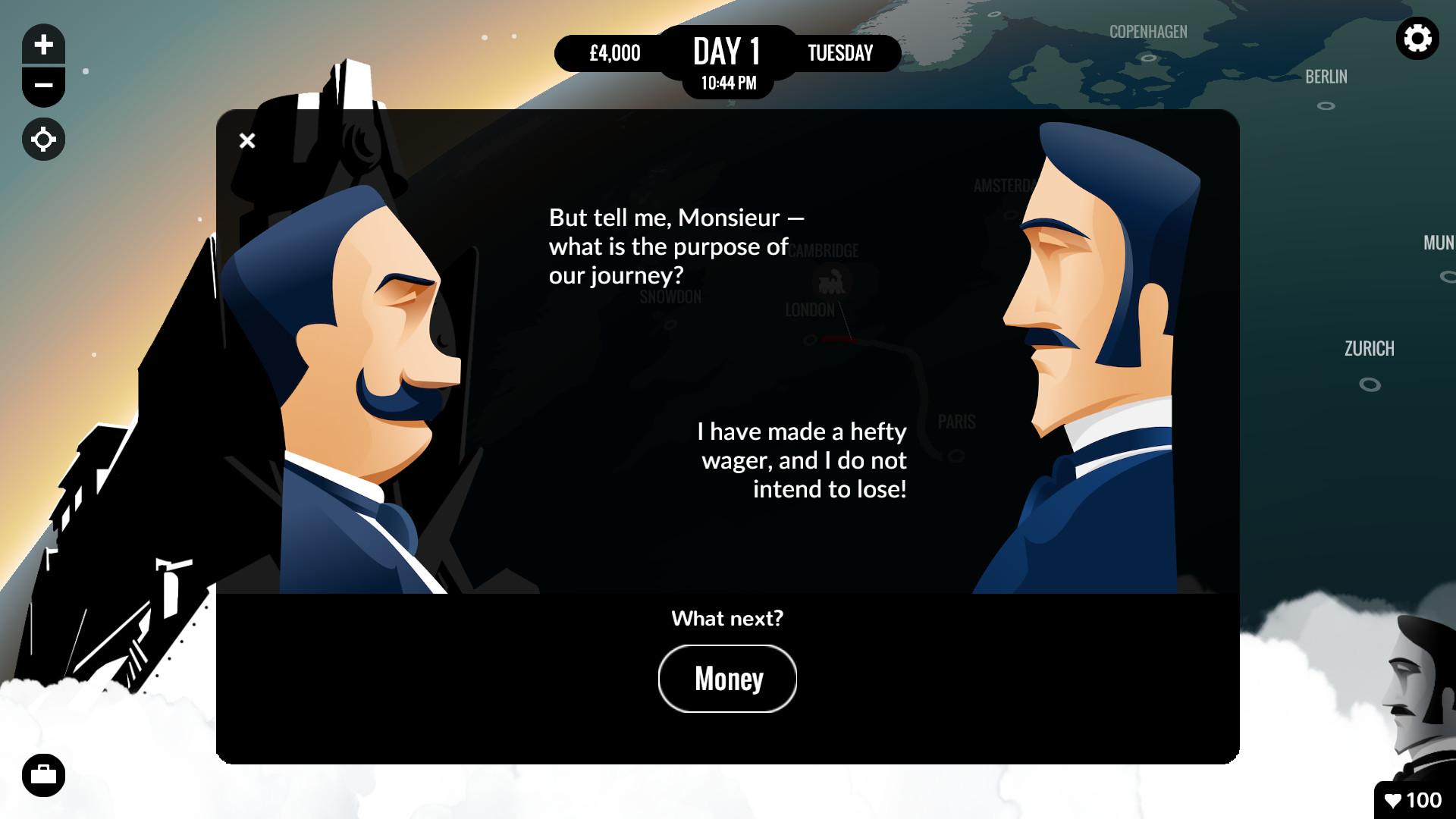 80 Days Review Screenshot 1