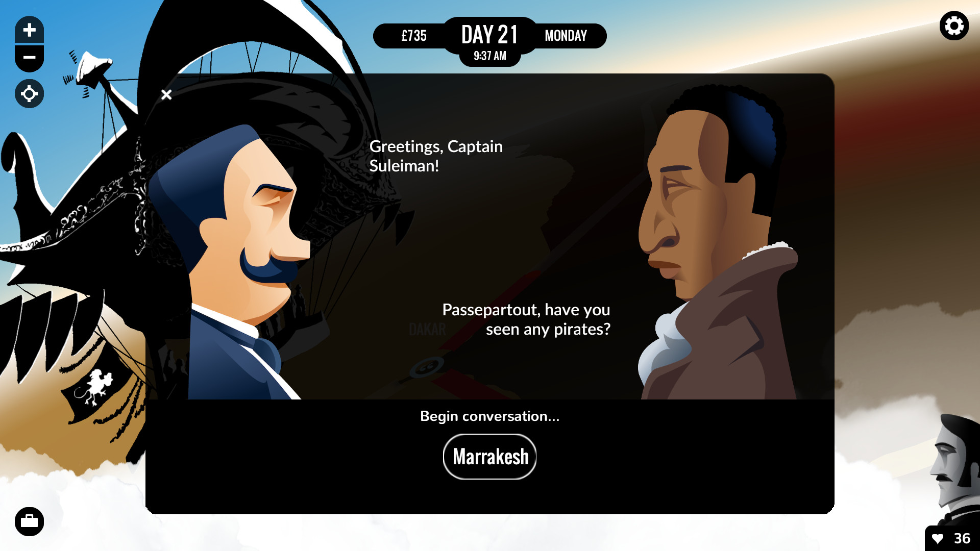 80 Days Review Screenshot 2