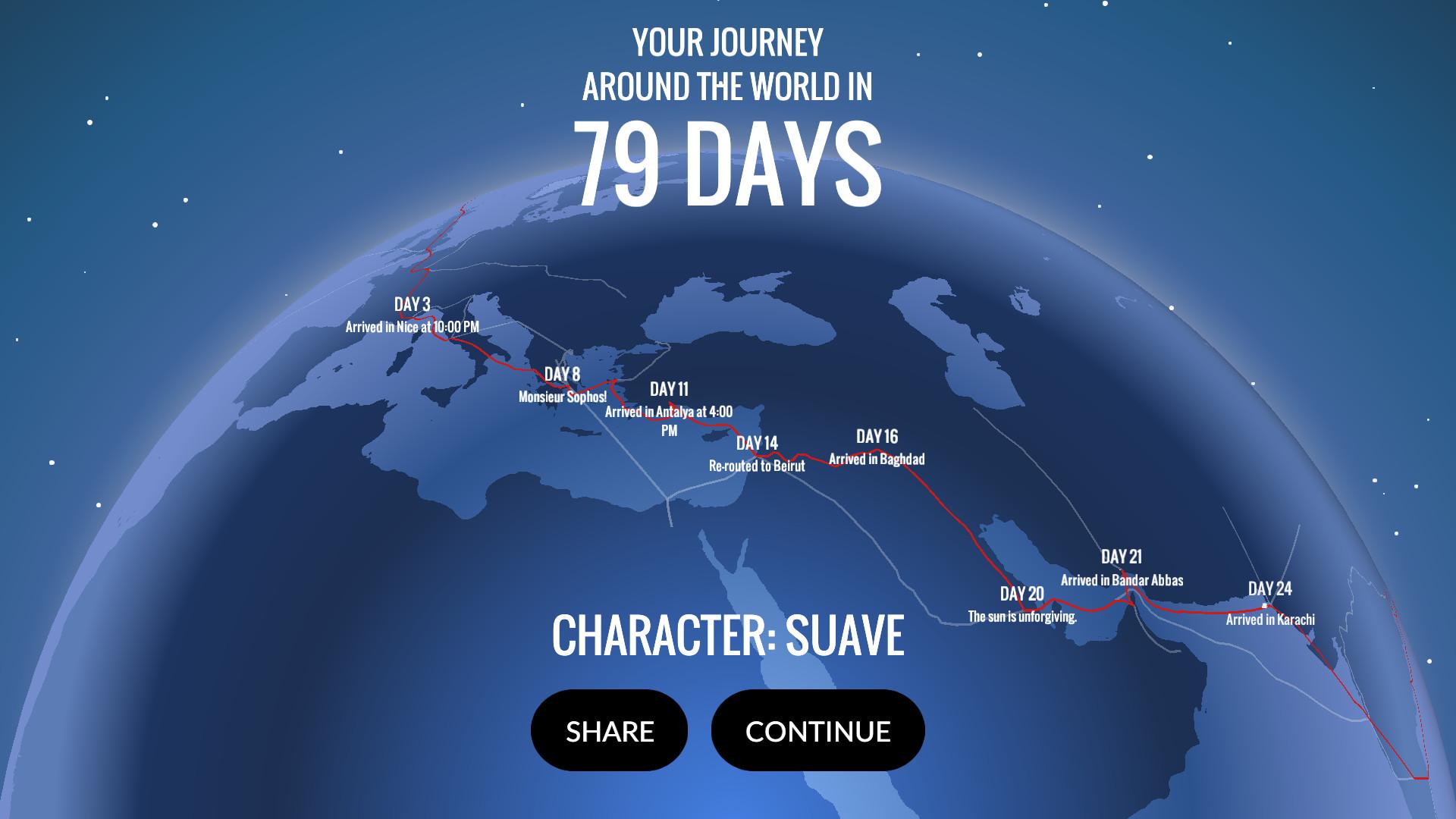 80 Days Review Screenshot 3