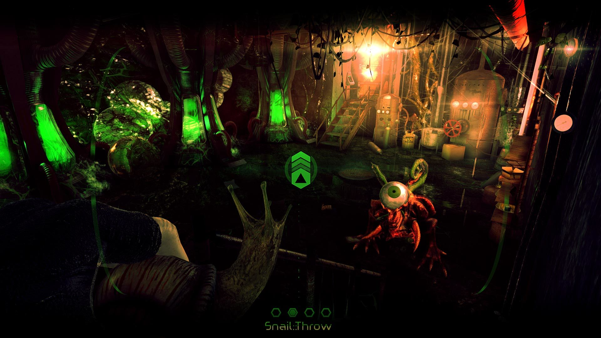 Albedo eyes from outer space review screenshot 3 brash games for Outer space 2016