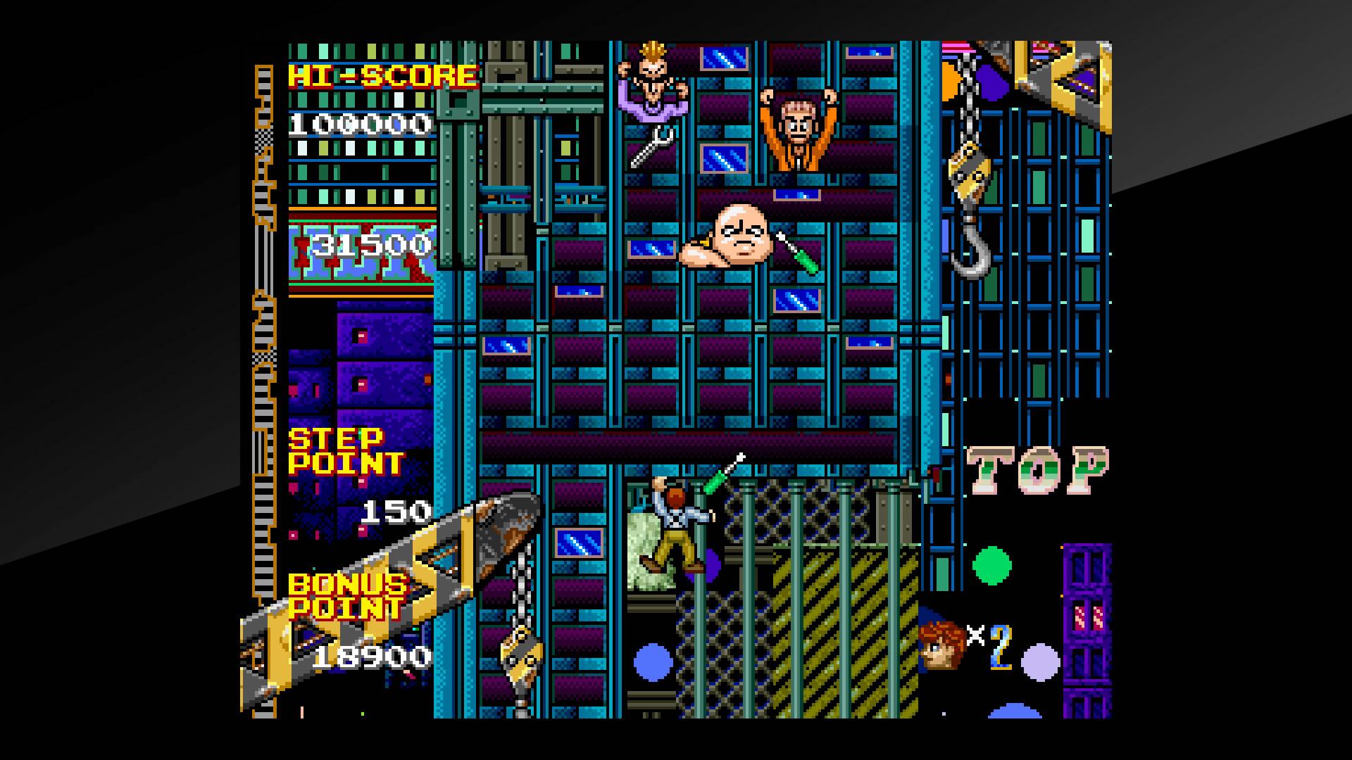 Arcade Archives CRAZY CLIMBER 2 Review Screenshot 2