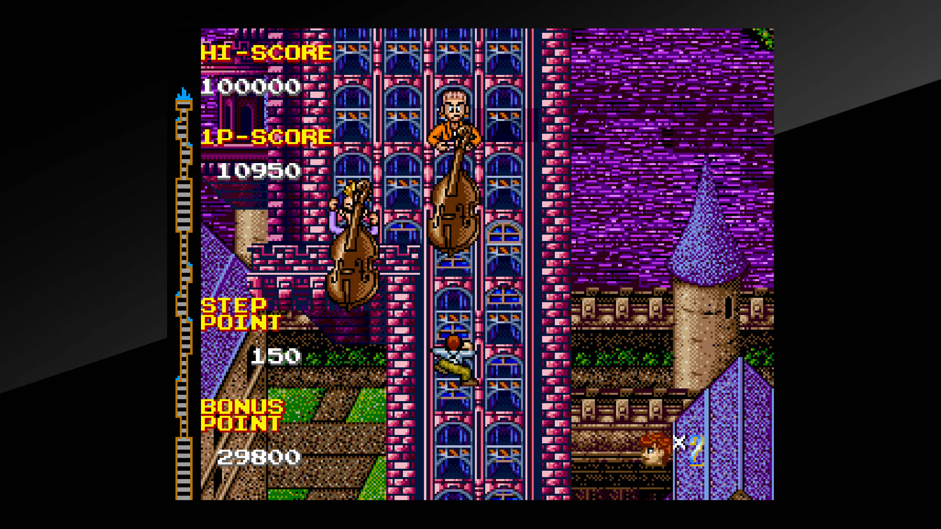 Arcade Archives CRAZY CLIMBER 2 Review Screenshot 3