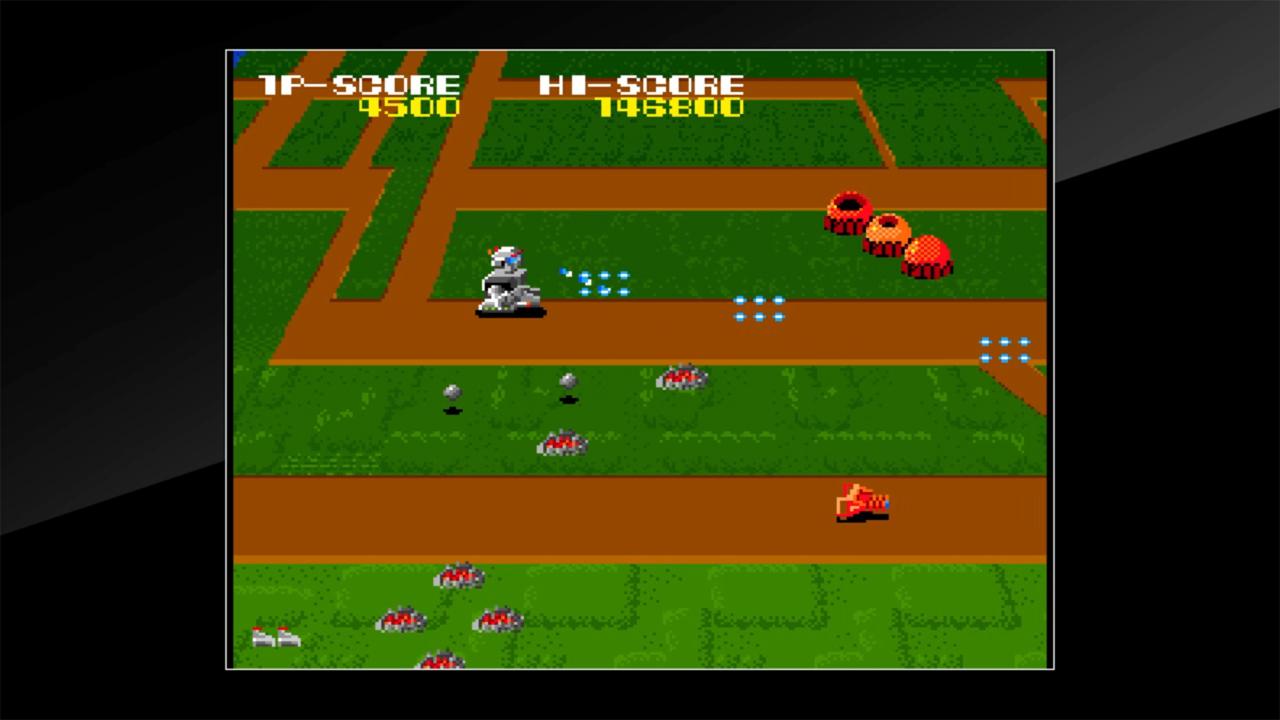Arcade Archives MAGMAX Review Screenshot 1