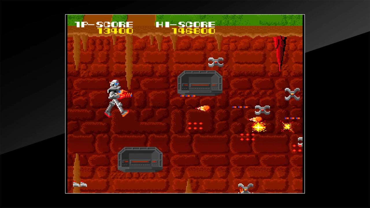 Arcade Archives MAGMAX Review Screenshot 2