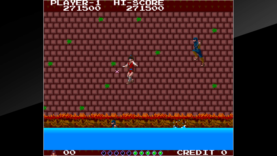Arcade Archives THE LEGEND OF KAGE Review Screenshot 1