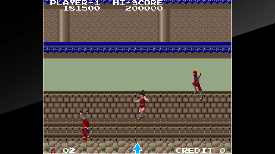 Arcade Archives THE LEGEND OF KAGE Review Screenshot 2