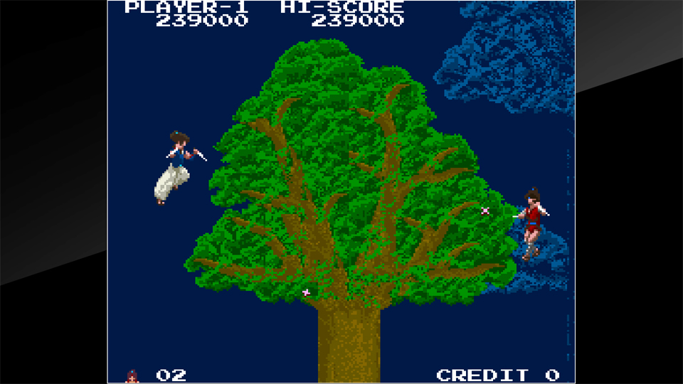 Arcade Archives THE LEGEND OF KAGE Review Screenshot 3