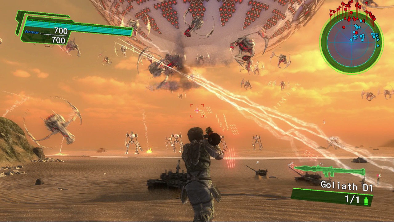 Earth Defense Force 4.1 The Shadow of New Despair Review Screenshot 1