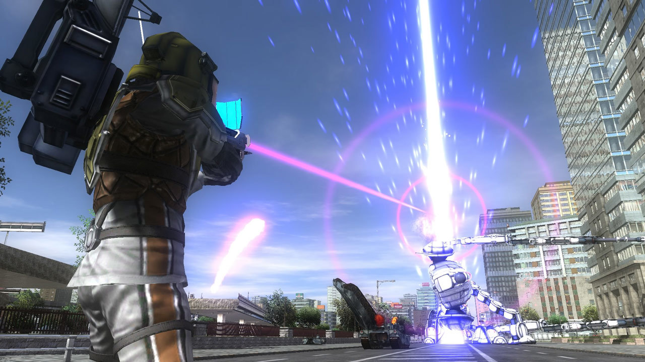 Earth Defense Force 4.1 The Shadow of New Despair Review Screenshot 3