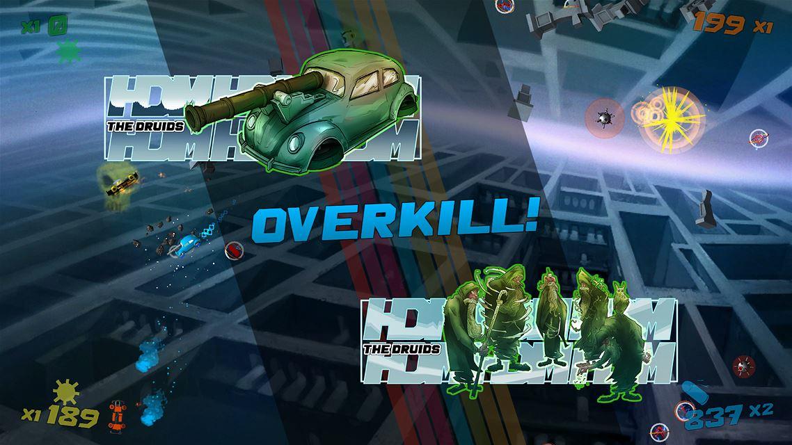 Hyperdrive Massacre Review Screenshot 1
