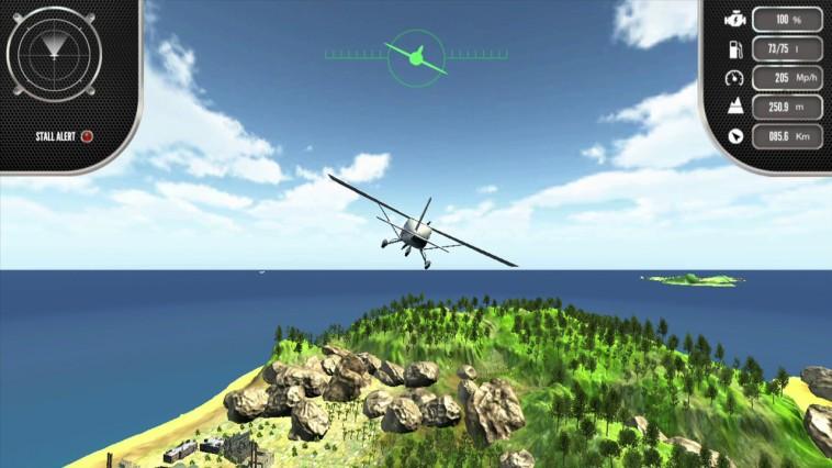 Island Flight Simulator Review Screenshot 1