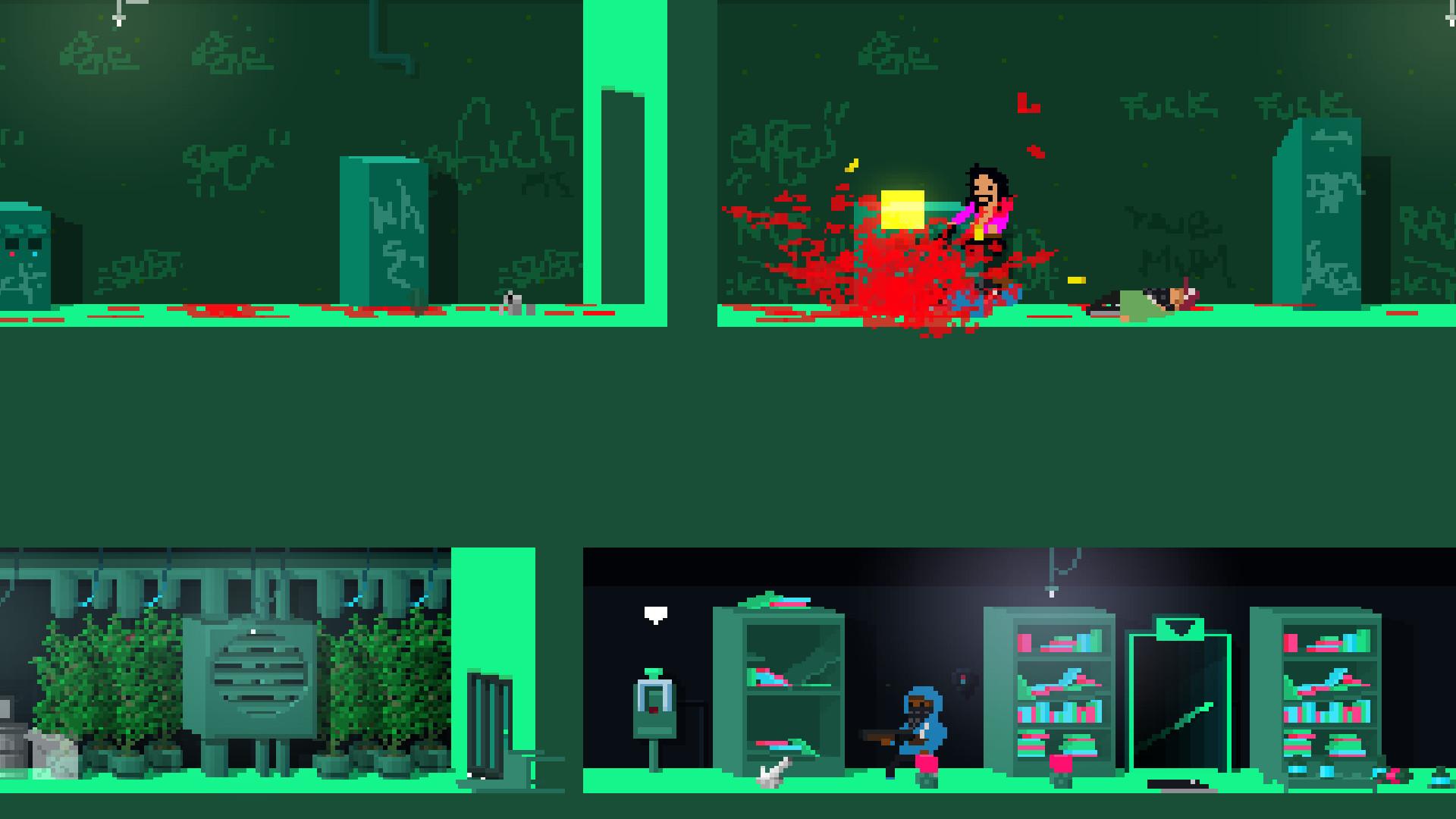NOT A HERO Review Screenshot 2