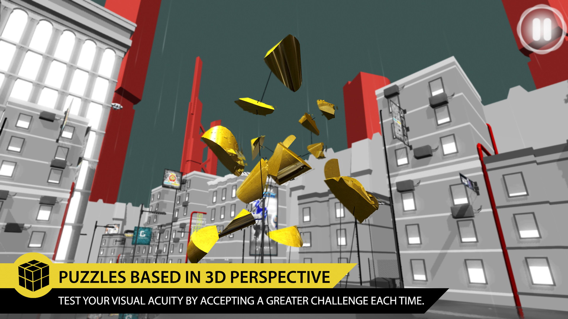 PERFECT ANGLE- The puzzle game based on optical illusions Review Screenshot 3