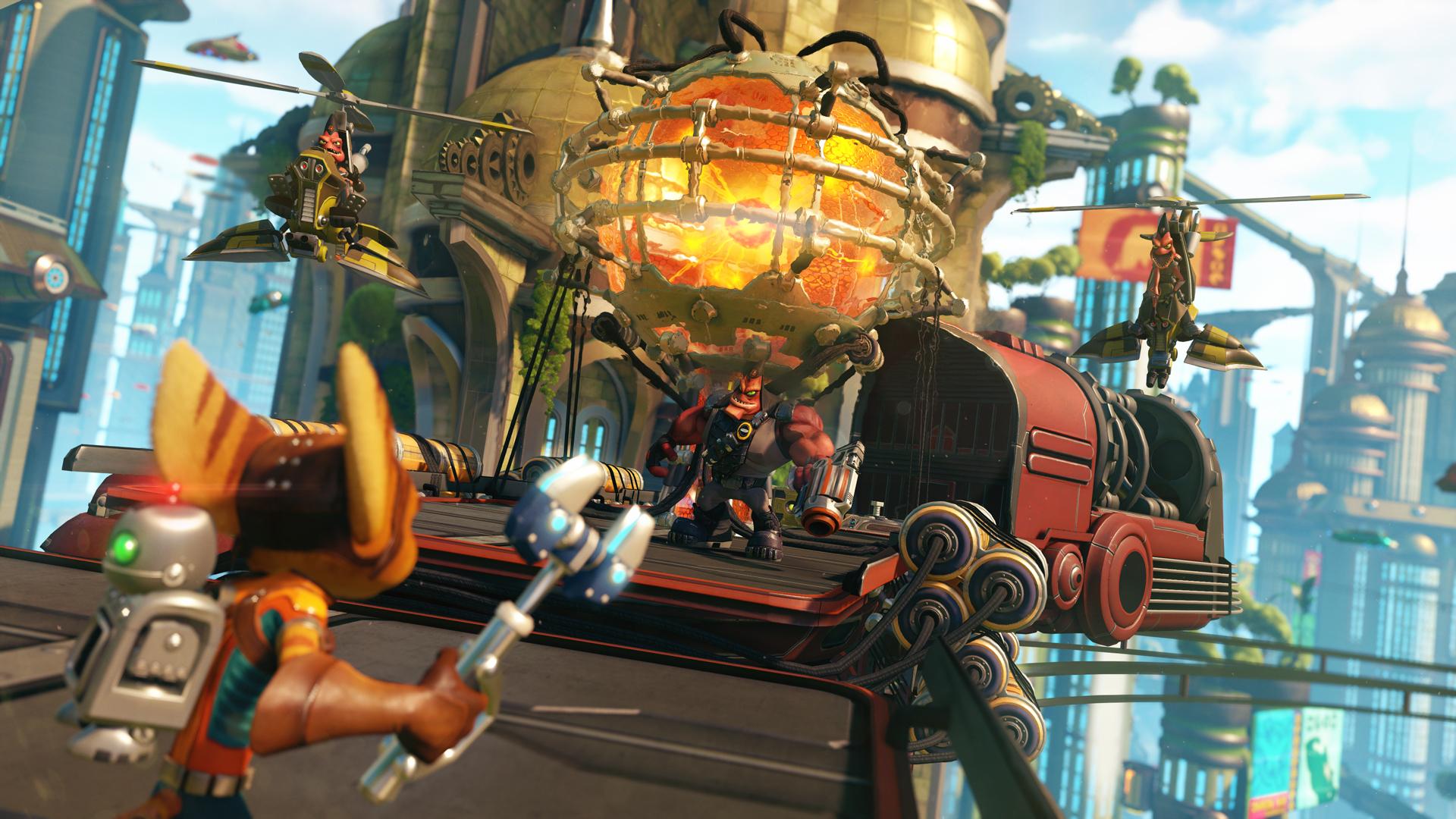 Ratchet & Clank PS4 Screenshot 3