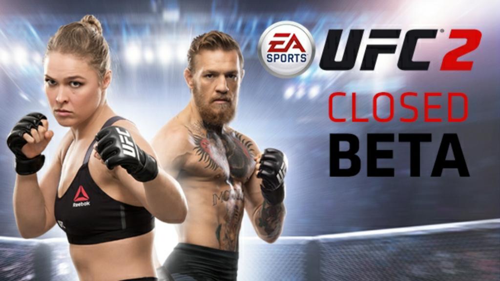 The weeklong UFC 2 beta starts now