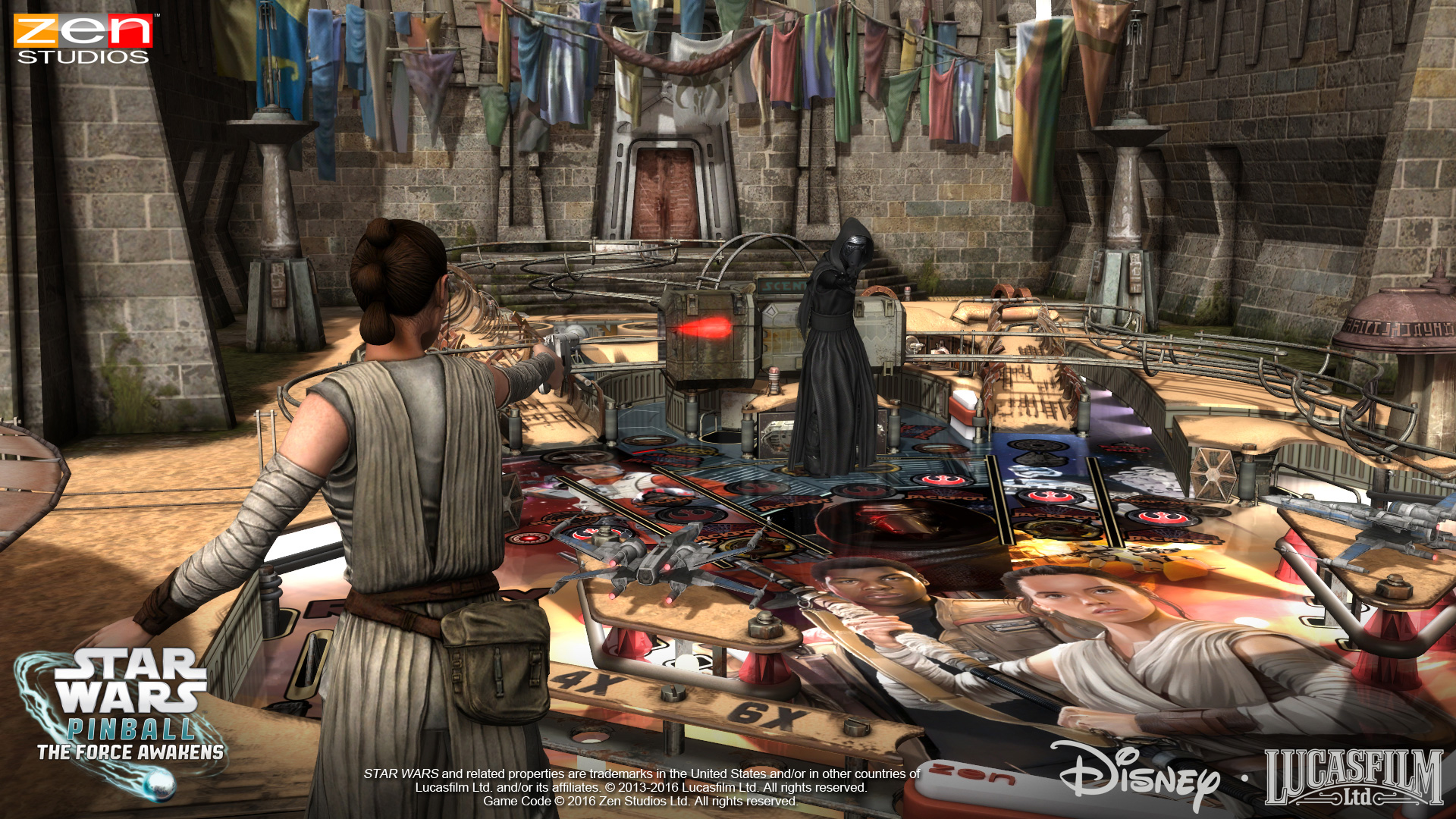Star Wars Pinball The Force Awakens Screenshot 1