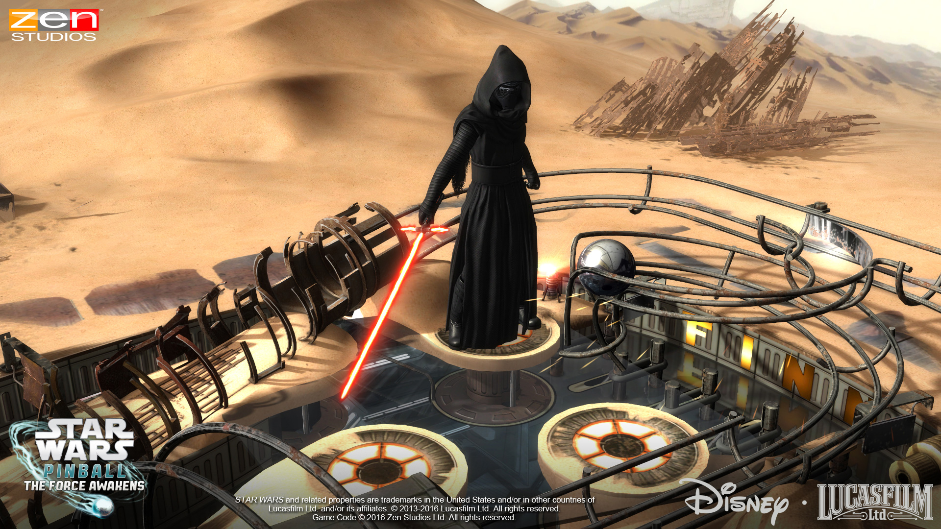 Star Wars Pinball The Force Awakens Screenshot 2