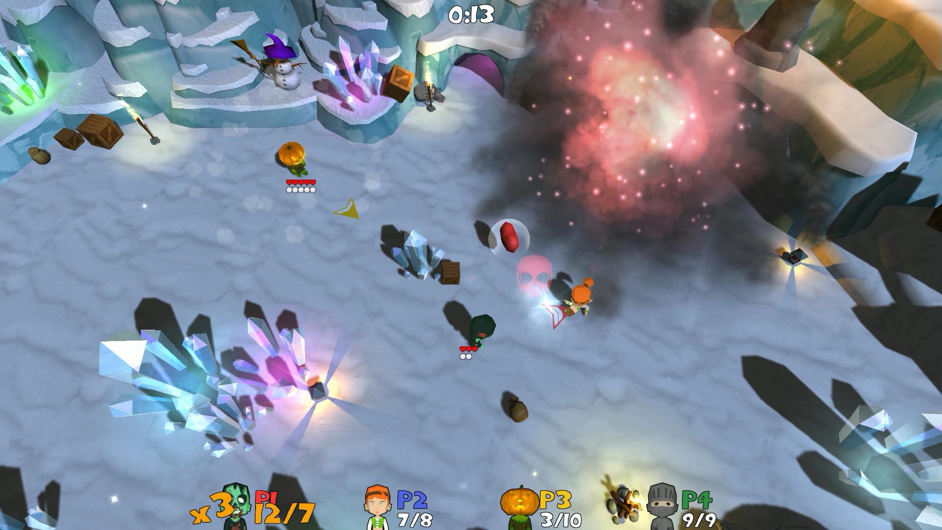 Super Snow Fight Review Screenshot 1