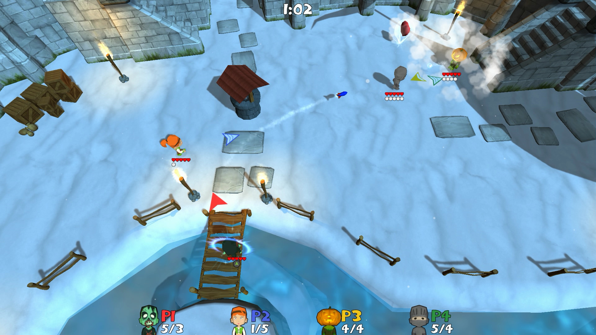 Super Snow Fight Review Screenshot 2