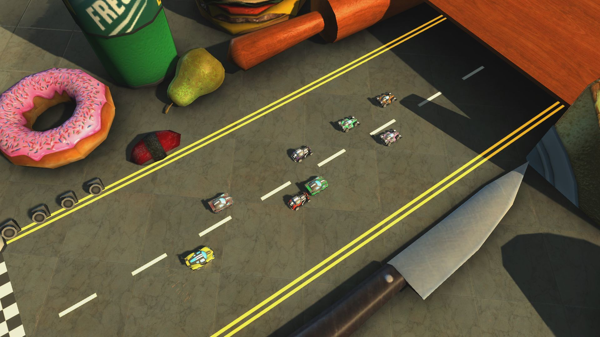 Super Toy Cars PS4 Review Screenshot 2