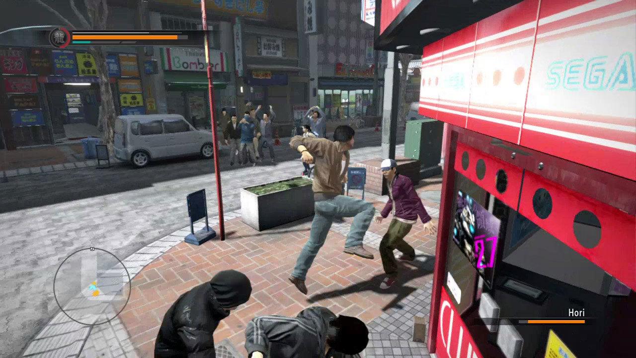 Yakuza 5 Review Screenshot 1