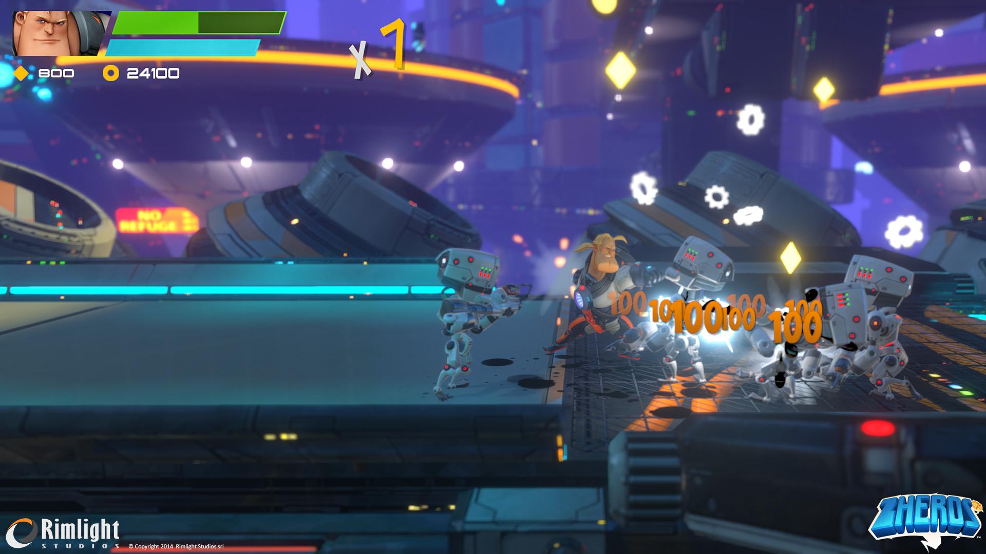 ZHEROS Xbox One Review Screenshot 1