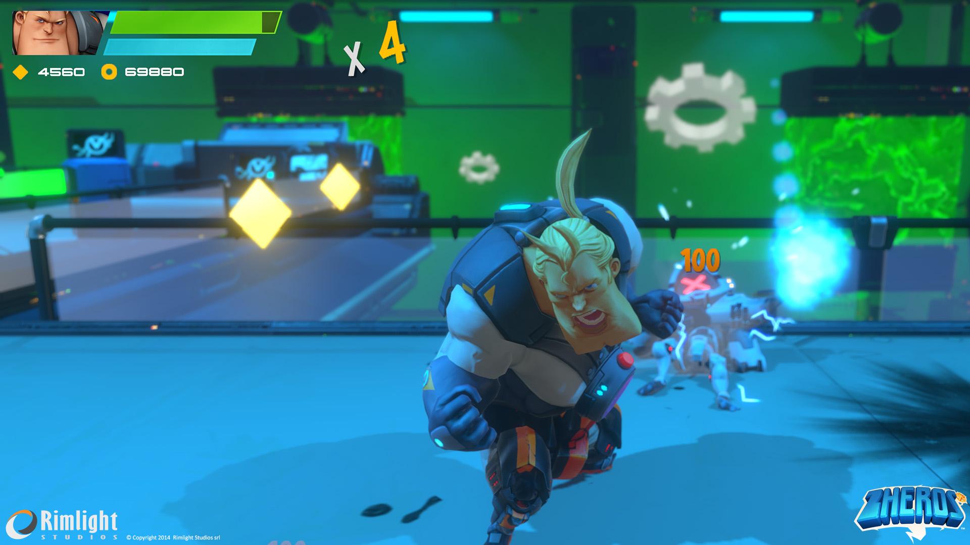 ZHEROS Xbox One Review Screenshot 2
