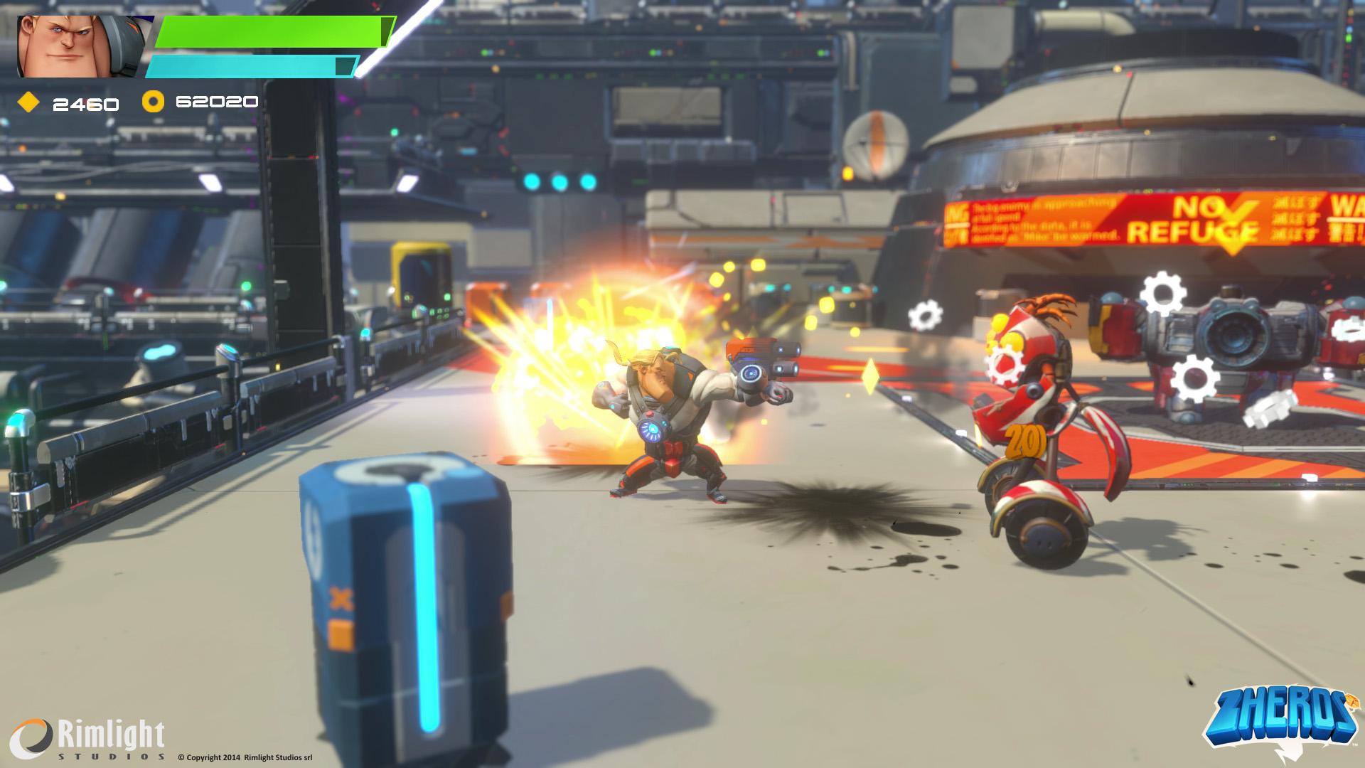 ZHEROS Xbox One Review Screenshot 3