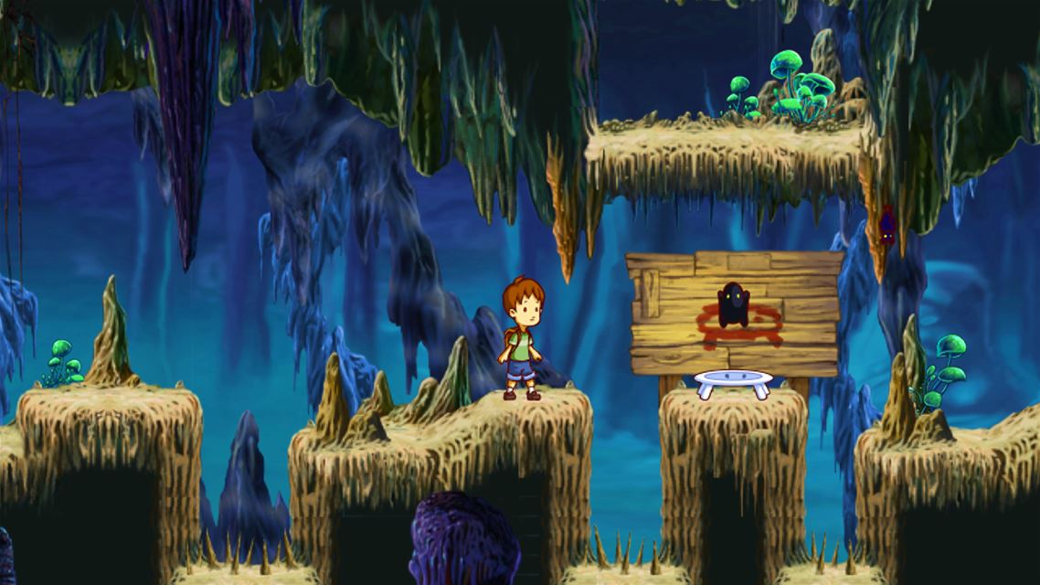 A Boy and His Blob Review Screenshot 1