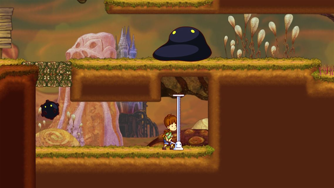 A Boy and His Blob Review Screenshot 2