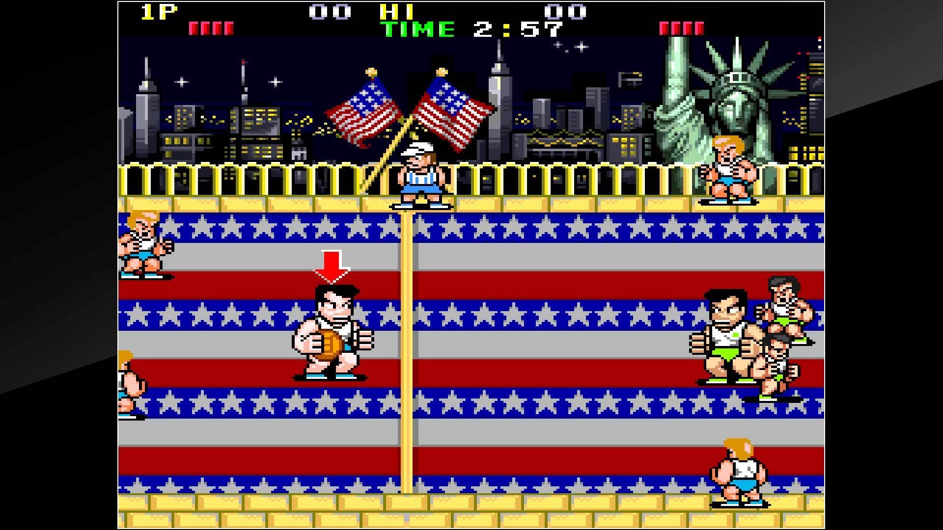 Arcade Archives Super Dodge Ball Review Screenshot 2
