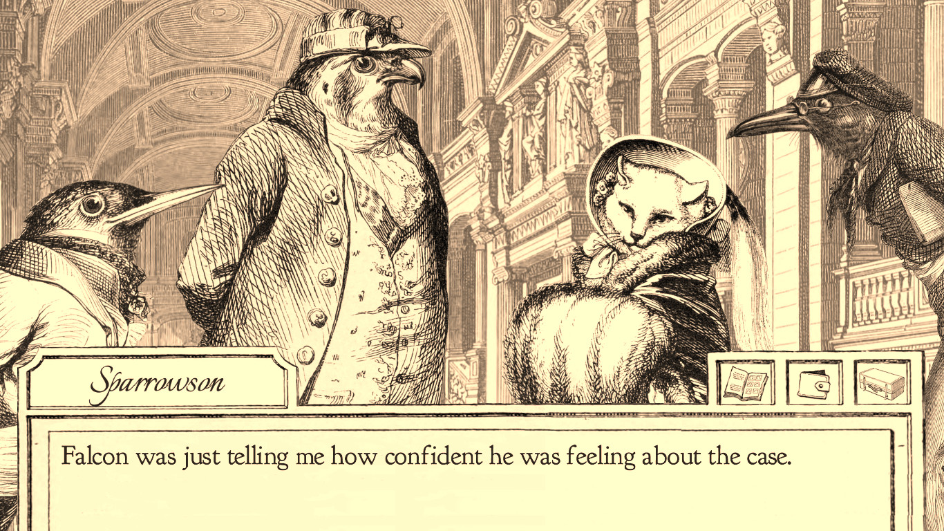 Aviary Attorney PC Game Review Screenshot 1