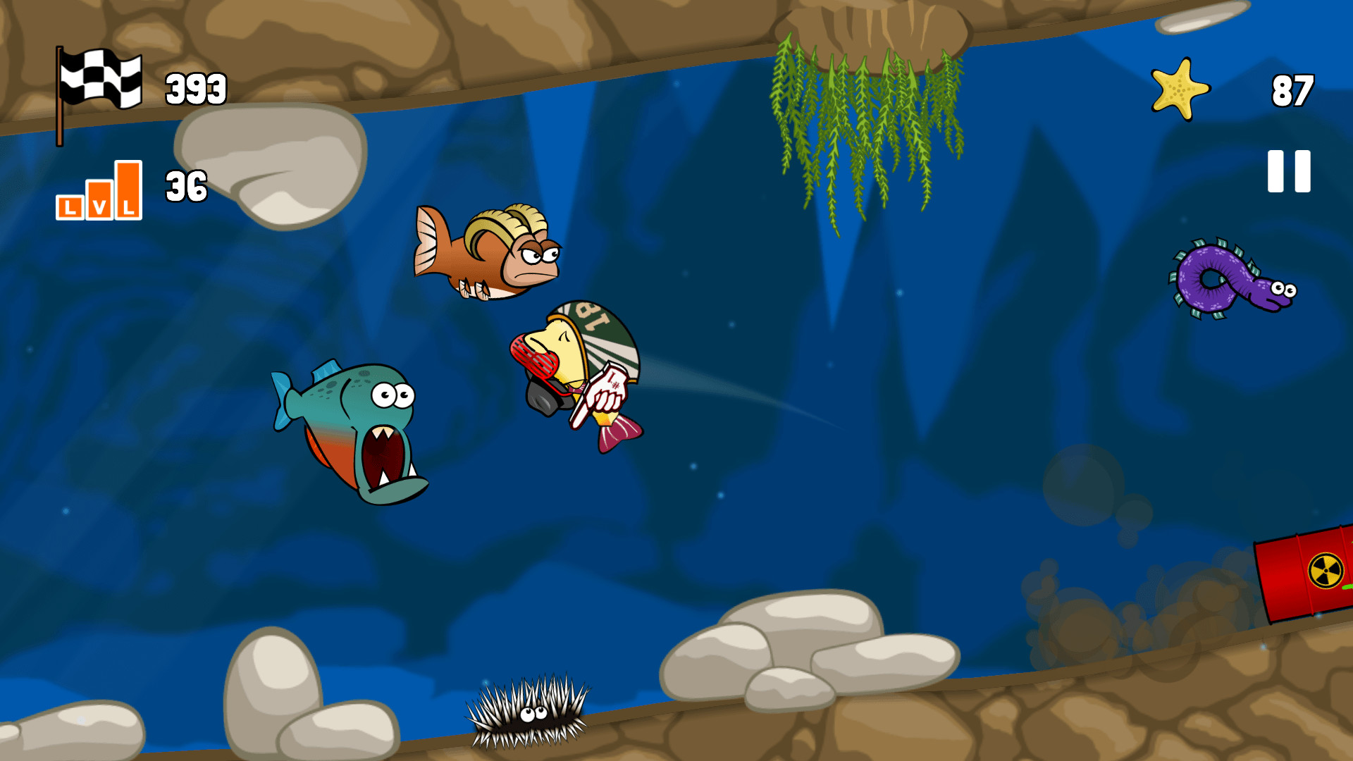 Blowy Fish Review Screenshot 1
