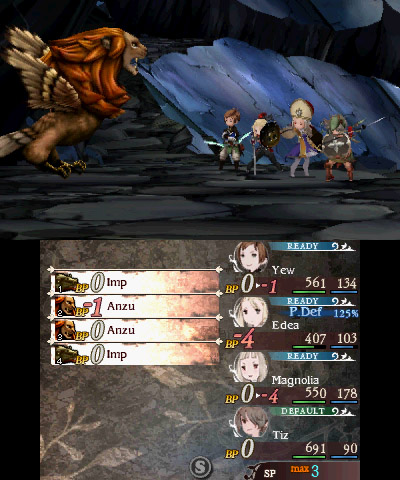 Bravely Second End Layer Screenshot 1