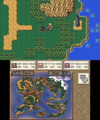 Chronus Arc 3DS Game Review Screenshot 2