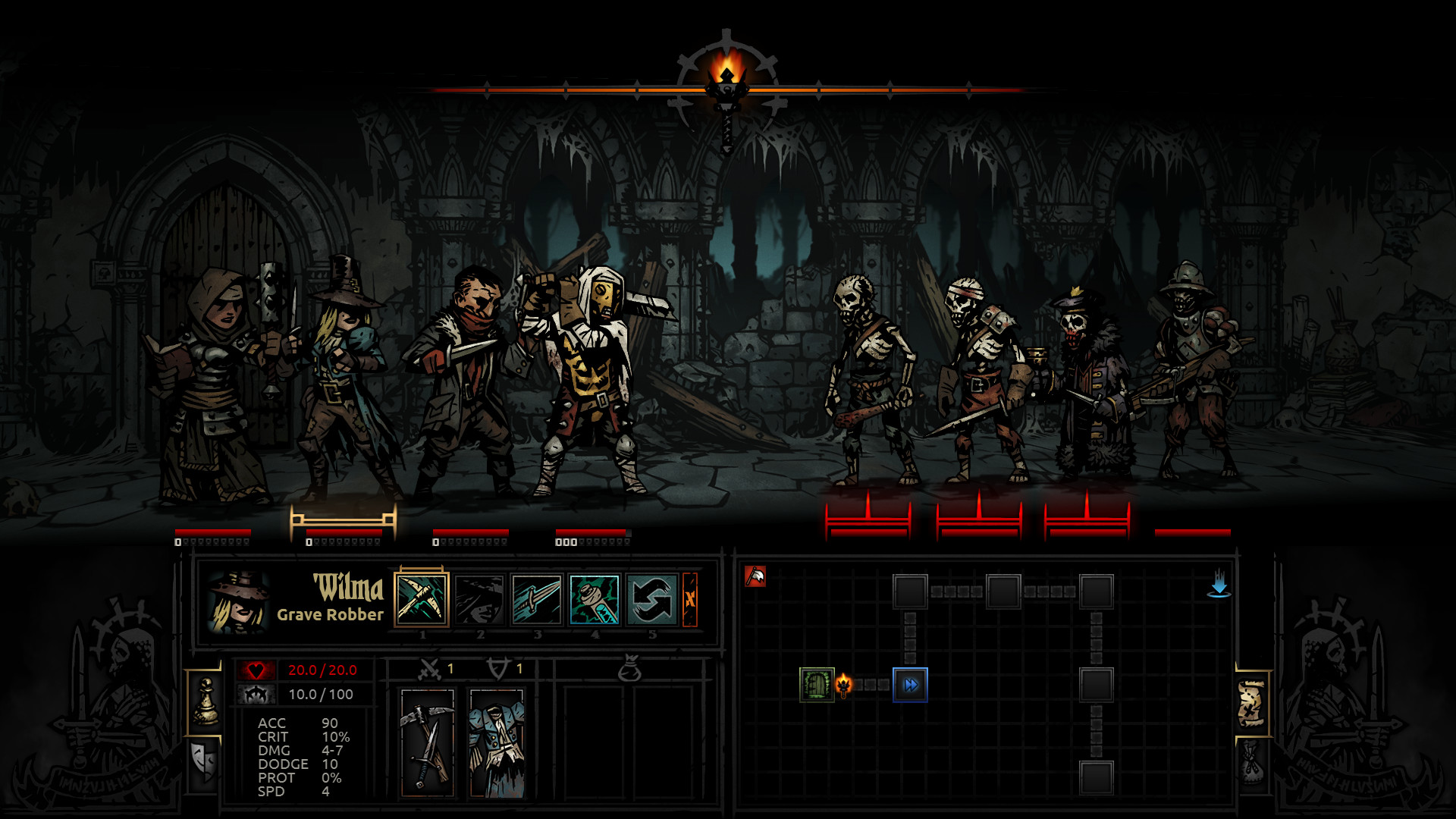 Darkest Dungeons PC Game Review Screenshot 1
