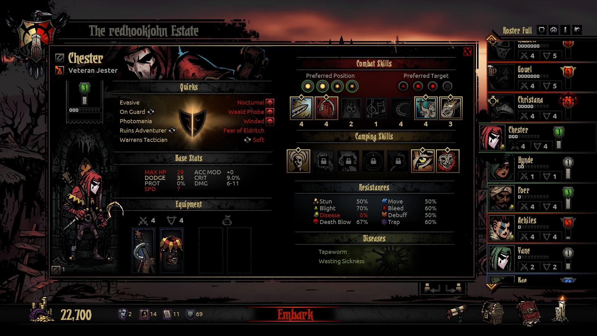 Darkest Dungeons PC Game Review Screenshot 2