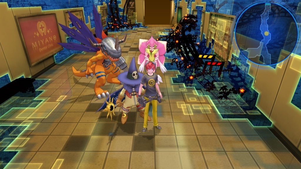 Digimon Story Cyber Sleuth PS4 Game Review Screenshot 1