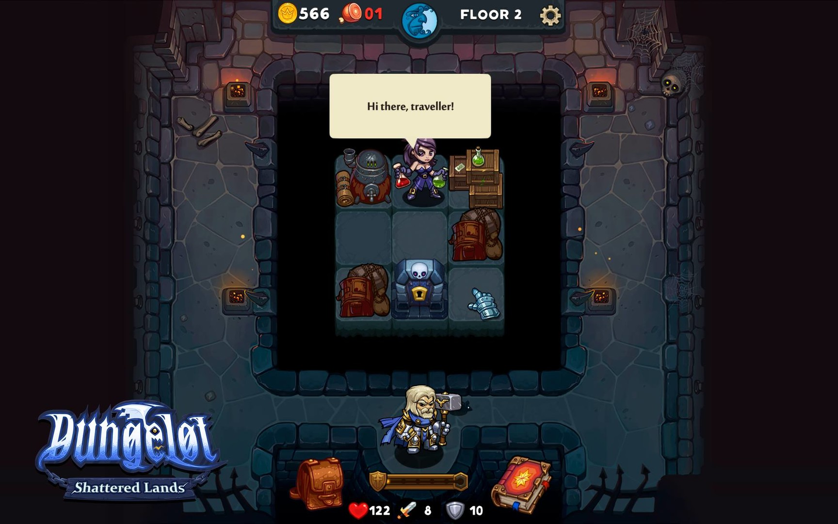 Dungelot Shattered Lands PC Game Review Screenshot 2